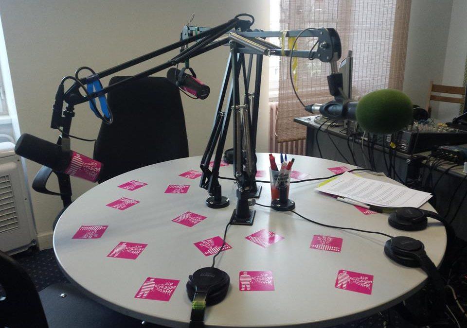 En direct sur Radio Evasion.