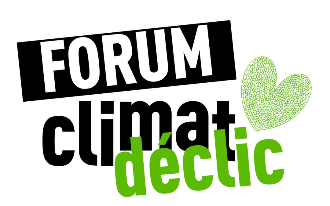 Forum Climat Déclic.