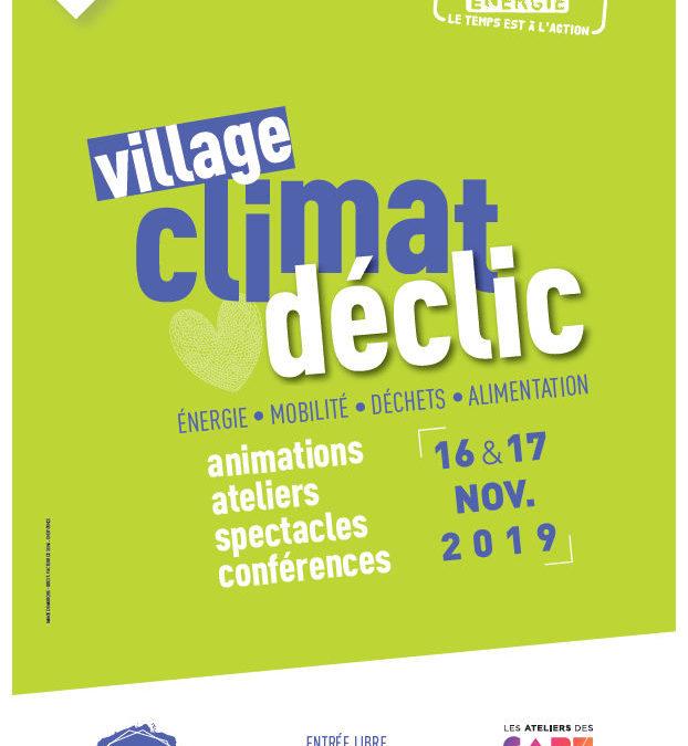 Village Climat Déclic aux Capucins.