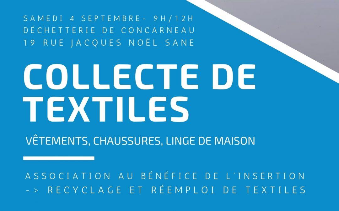 Rendez-vous le 4 septembre à Concarneau !